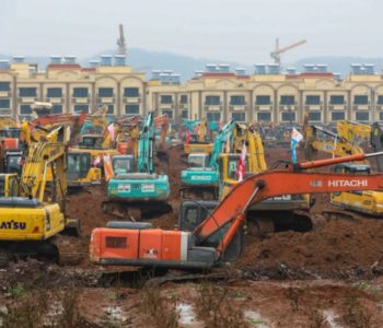 Kinezi brzo grade bolnicu sa 1.000 kreveta i mora biti gotova za 4 (!) dana. Za koliko bi bila gotova u BiH?