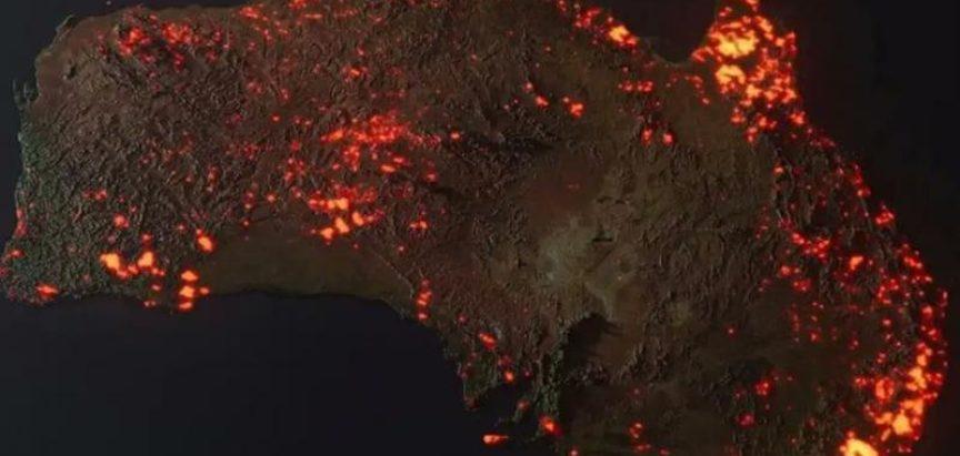 Požari u Australiji vidljivi iz svemira