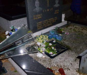 """U Tuzli ponovno oštećeno katoličko groblje """"Veresika"""""""