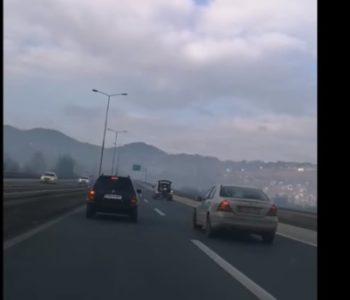 Sankanje na autoputu