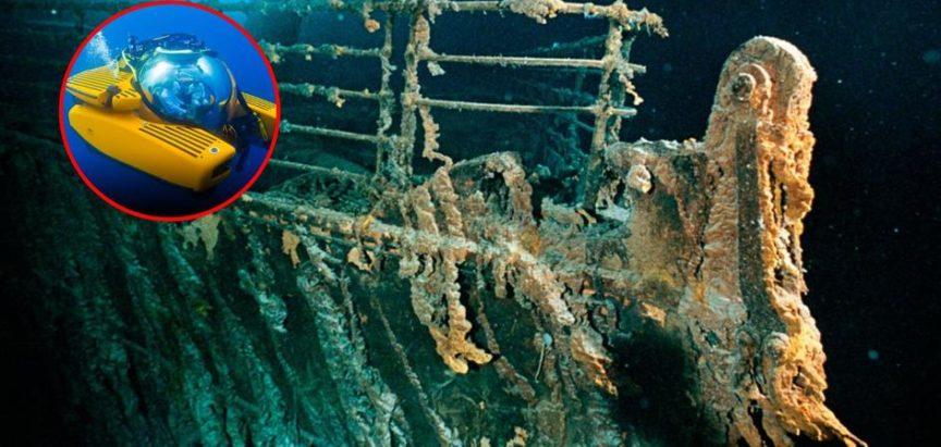Amerikanci zatajili sudar podmornice s Titanicom