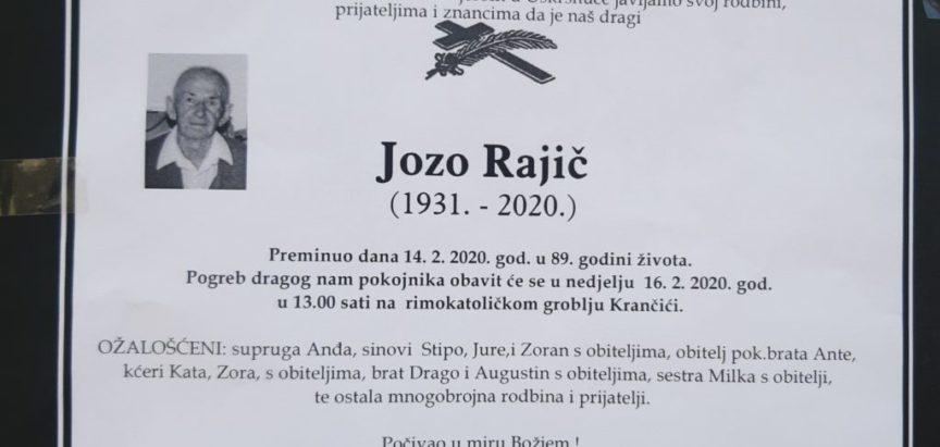 Jozo – Josko Rajič