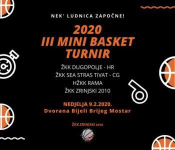 HŽKK Rama: U nedjelju nastup najmlađih na turniru u Mostaru