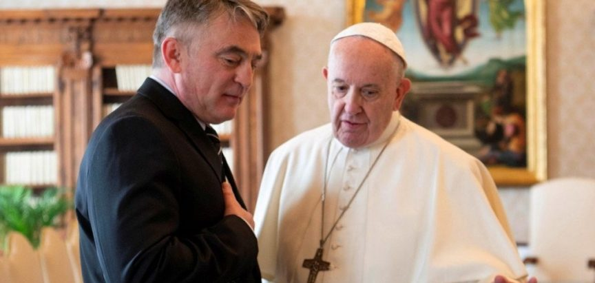 Komšićev ured sakrio poruku Vatikana