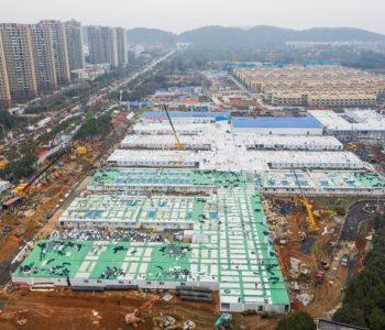 Bolnica u Wuhanu, sagrađena za samo 8 dana, prima prve pacijente