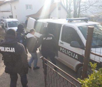 Što je sve policija pronaša kod privedenog T.Ć. iz Ćališa, Prozor-Rama?