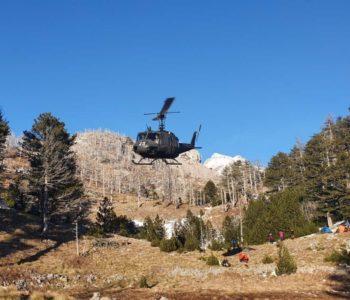 Povrijeđeni planinar helikopterom prebačen u Klinički centar u Sarajevu