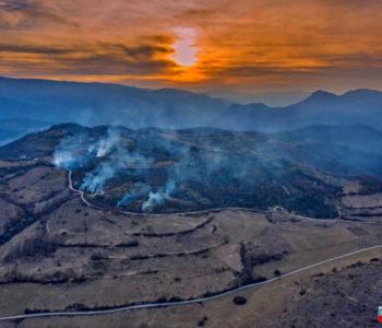 Foto/video: Ramski vatrogasci danas gasili četiri požara na tri terena