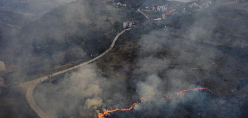 Upozorenje općinske inspekcije o paljenju trave i niskog raslinja