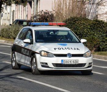 Policijski izvještaj za protekli tjedan