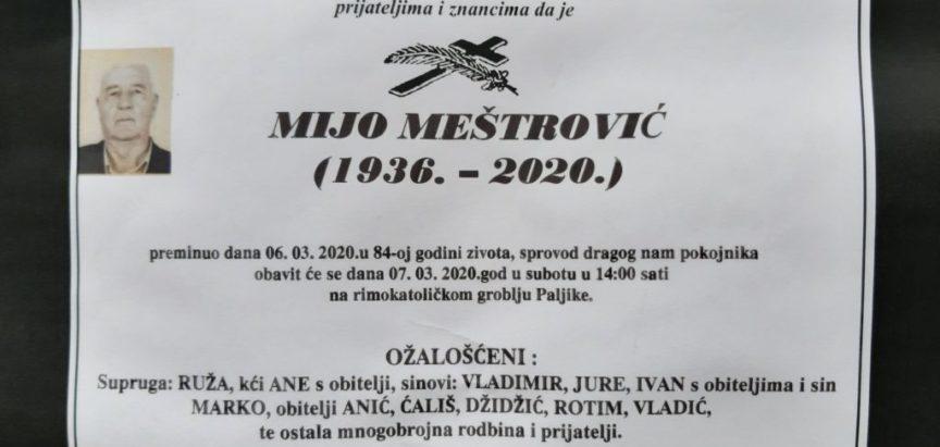 Mijo Meštrović