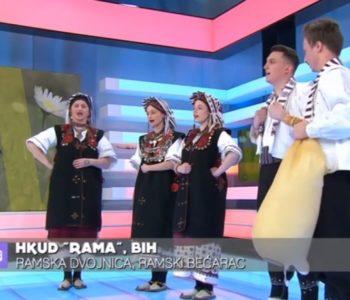 """Članovi HKUD """"Rama"""" gostovali u HTV-ovoj emisiji """"Dobro jutro Hrvatska"""""""
