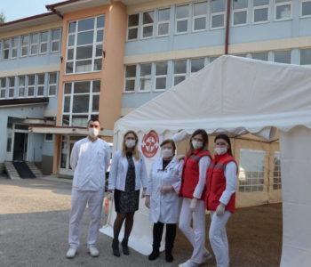 "Dom zdravlja ""Rama"": Spreman šator za preventivni pregled"