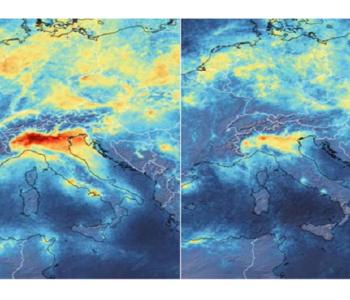 Satelitske snimke otkrile posljedice karantene u Italiji: Poboljšala se kvaliteta zraka