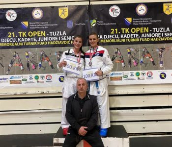 KK  Empi: Zlato i srebro za Moniku Rajić na  TK Open-u