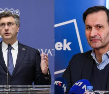 Stari i novi predsjednik HDZ-a Hrvatske Plenković