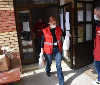 Foto: Crveni križ Prozor-Rama neumoran u potpori potrebnima u ovoj krizi