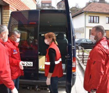 Crveni križ Prozor-Rama započeo podjelu uskrsnih paketa pomoći