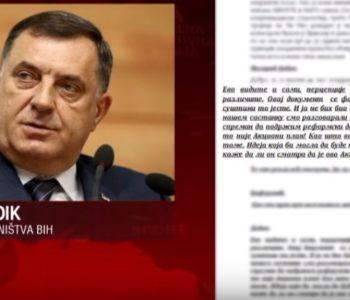PROCURIO STENOGRAM Šarović: Izdajnik ostaje izdajnik, Dodik znao da potpisuje ANP