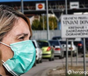 Tri žene i muškarac iz žarišta koronavirusa stigli u Hercegovinu, na granici nastupio kolaps