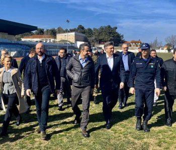 Najviši dužnosnici EU-a preletjeli grčko-tursku granicu: Sva podrška Grčkoj za sprječavanje nelegalnih migracija