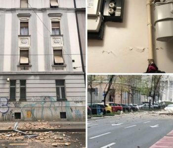 Snažan potres pogodio Zagreb