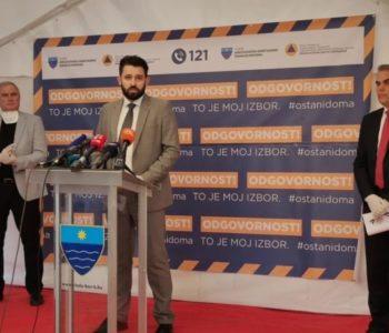 U Mostaru od 32 testiranih jedno je pozitivno