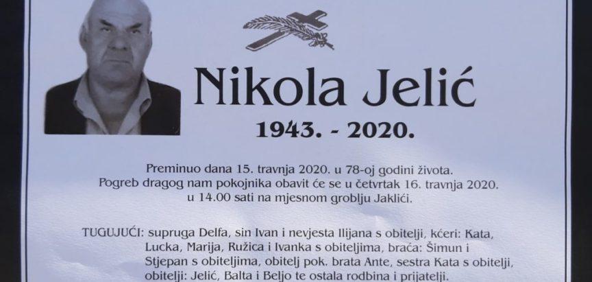 Nikola Jelić (1943.-2020.)