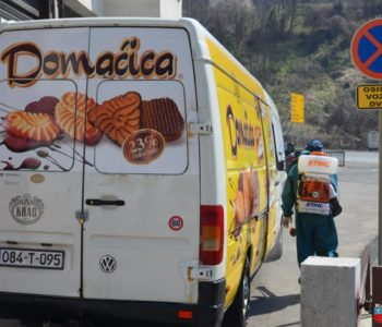U općini Prozor-Rama provodi se dezinfekcija svih dostavnih vozila