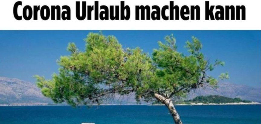 """Nijemci razmišljaju o ljetovanju u Hrvatskoj jer se pozicionira kao """"korona free"""""""