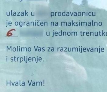 Natpis na trgovini u Dalmaciji pravi je hit zbog urnebesnih grešaka