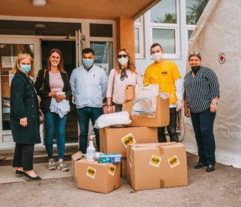 """Vrijedna donacija zaštitne opreme organizacije Help Domu zdravlja """"Rama"""""""