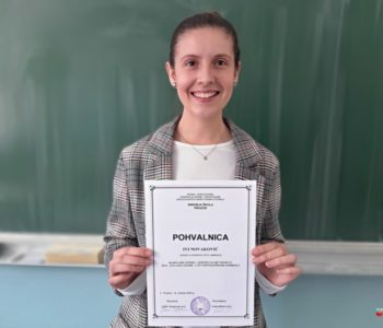 Razgovor s povodom: Iva Novaković, učenica generacije Srednje škole Prozor školske 2019./2020.