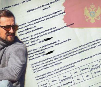 """""""Srebrena malina"""" kupila respiratore preko crnogorske firme, plaćeni 3,9 milijuna eura (7,6 milijuna KM)"""