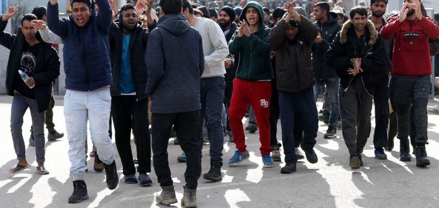 Zbog migranata u BiH sve napetije, policija prisiljena upotrebljavati silu