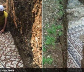 Pronađen rimski mozaik ispod vinograda