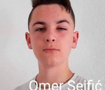 Omer Sejfić učenik generacije OŠ Šćipe