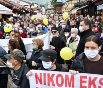 U Sarajevu prosvjedi: Sprema li se vrelo ljeto?