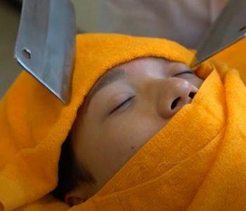 Bizarna masaža mesarskim noževima sve popularnija na Tajvanu: Biste li je probali?