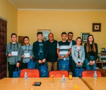 Načelnik Općine Prozor-Rama ugostio učenike generacije