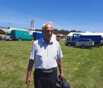 Ante Bošnjak Janjetov i s 80 godina hodočastio pješice Svetom Anti na Pidriš