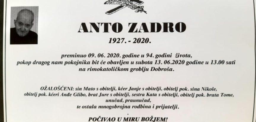 Anto Zadro