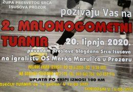 Najava: 2. Malonogometni turnir u povodu patrona župe Prozor