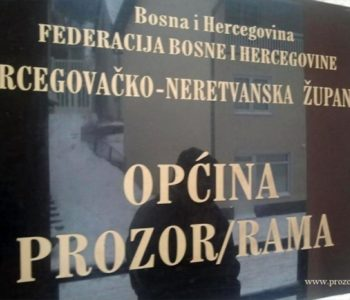 Općina Prozor-Rama obavijestila Tužiteljstvo HNŽ-a o nezakonitim postupcima Ivana Šekelje