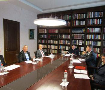 Prva sjednica Upravnog odbora Zaklade Vrhbosanske nadbiskupije