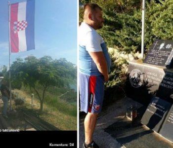 Otkriveno tko urinira po hrvatskoj zastavi i spomeniku Ludvigu Pavloviću
