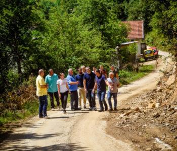 Proširenje i uređenje puta kroz naselja Šćipe i Liska