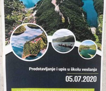 """Najava: Upis u Veslački klub """"Ustirama"""""""