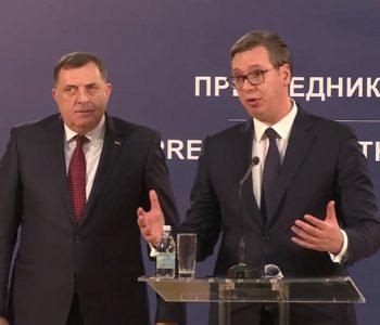 Dodik od Vučića traži lobiranje za odcjepljenje: RS bi trebala imati isti tretman kao Kosovo