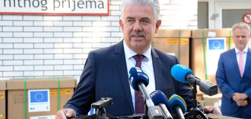 KORONA I U VLADI HNŽ Pozitivni premijer Nevenko Herceg te ministar Donko Jović